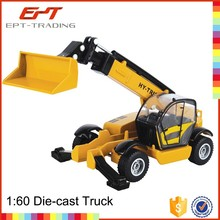 Hot sale kids metal toy bucket truck model for sale