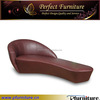 simple modern design high leather chaise lounge PFS5513