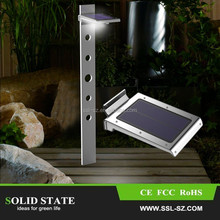 IP65 waterproof infrared motion sensor solar led lamp 2w garden outdoor solar motion sensor led lightingGT-SL101S