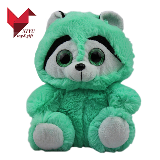 Chinese New Year Christmas Cheap Wholesale Baby Gift Big Eyes Super Soft Plush Toy