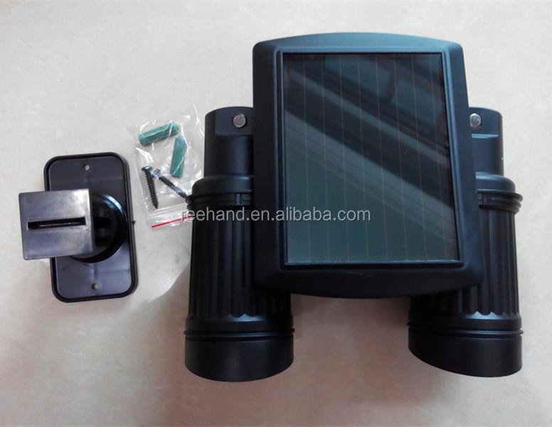 Twinspot Solar Motion Sensor Wall Light Garden Spot Light