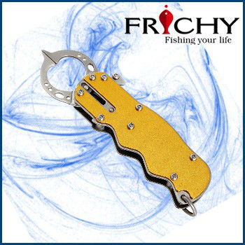 Frichy Fishing Catcher Aluminium&Stainless Steel Mini Fish Grip Pliers FLG10