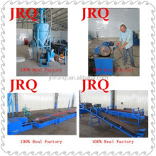 Waste Tyre Rubber Powder Making Machine To Get Crude Oil And Crude Black