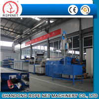 top quality plastic split film extruding machinery for package