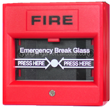 Addressable Conventional Fire Alarm System Manual Call Point Used For Hospitals