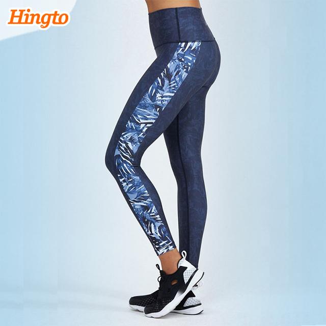 2018 Custom popular design tight yoga pants/leggings compression pants wholesale