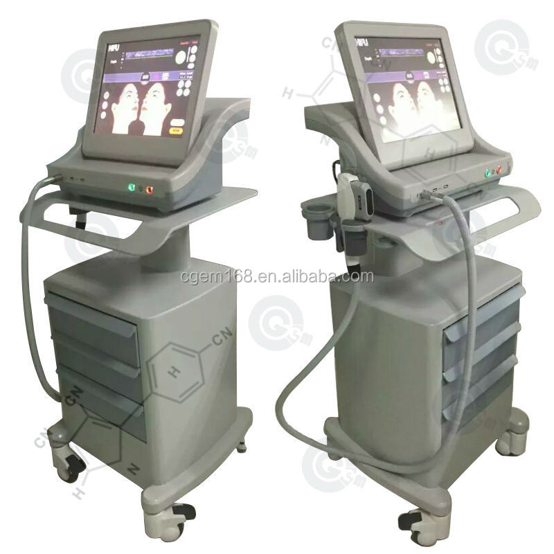 CG-2014C Portable hifu machine / high intensity focused ultrasound hifu for wrinkle removal / hifu face lift