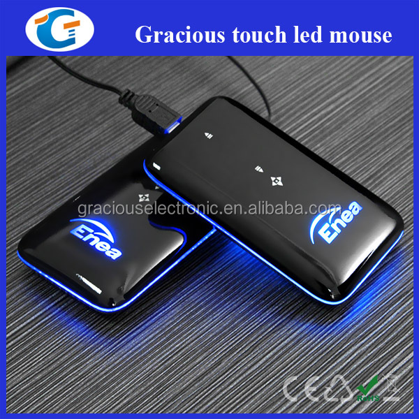 Retractable USB Mini Slim Touch Wired Mouse for Promotional