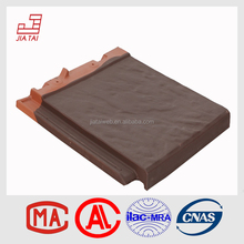 Good price matt finish fire-proof clay roof tile flat tiles