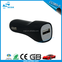 CC065 car battery charger 5V 2.4A power adapter from SCGK factory