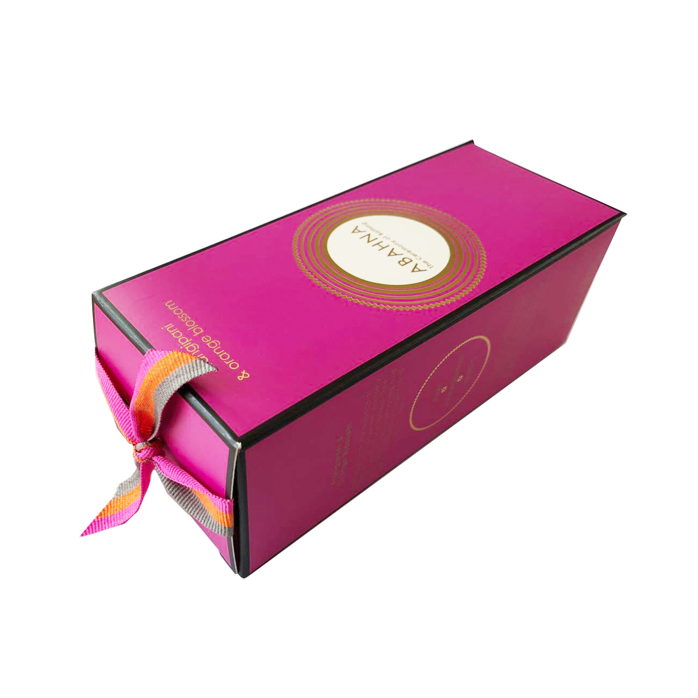 Custom logo printing straight tuck end paper cosmetic box for packaging