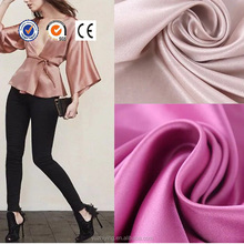 80GSM PA coating 100% polyester satin fabric recyclable material