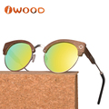 Made in China Quality Metal and Wood Designer Custom Sunglasses