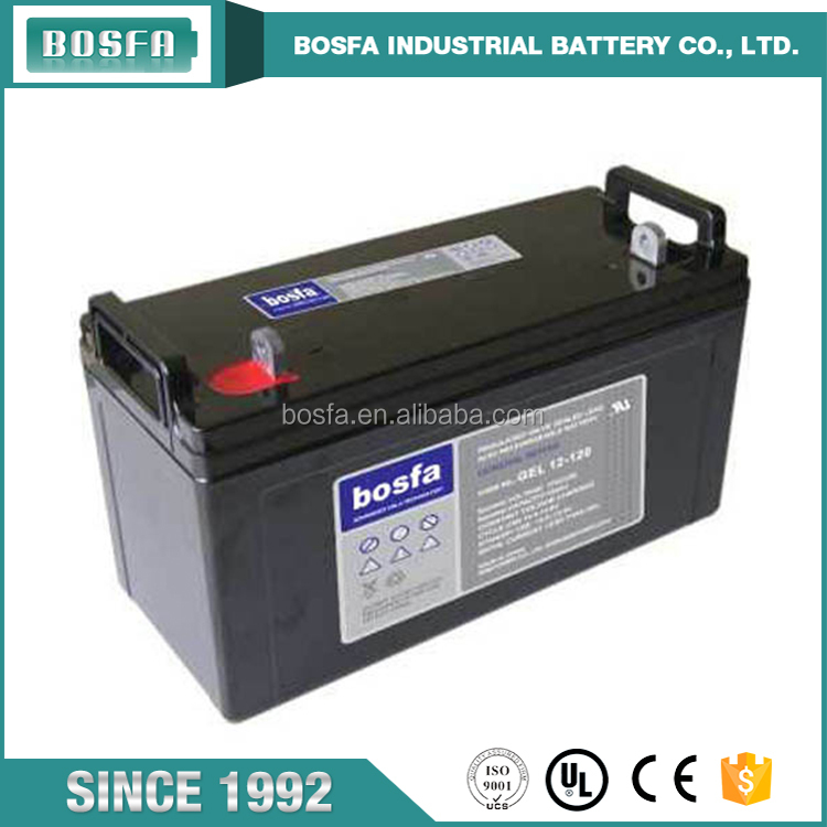 bosfa wholesale cheap sealed solar gel battery 12v120ah gel battery