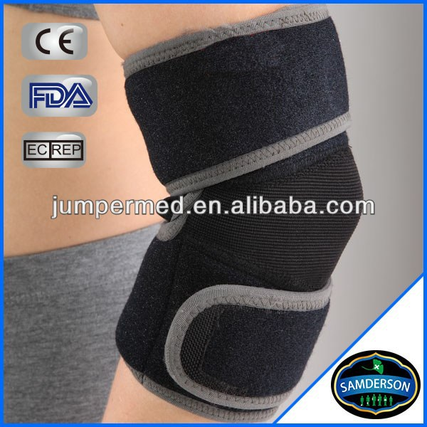 black sports ce neoprene tactical knee&elbow pad