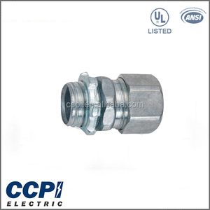 "High Quality UL LISTED Die Cast Zinc 1/2""-2"" Customized OEM EMT Compression Connector"