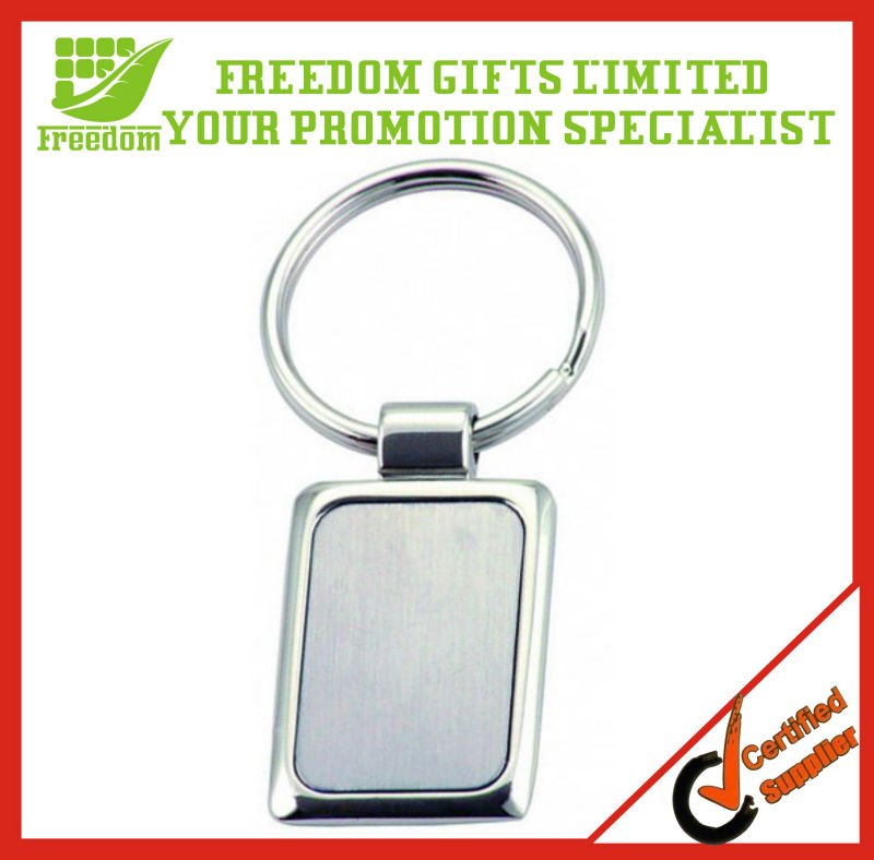 Cheapest Price Logo Printed Top Quality Custom Metal Keychain