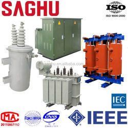 SAGHU 22kv dry-type transformer uncoated double windings