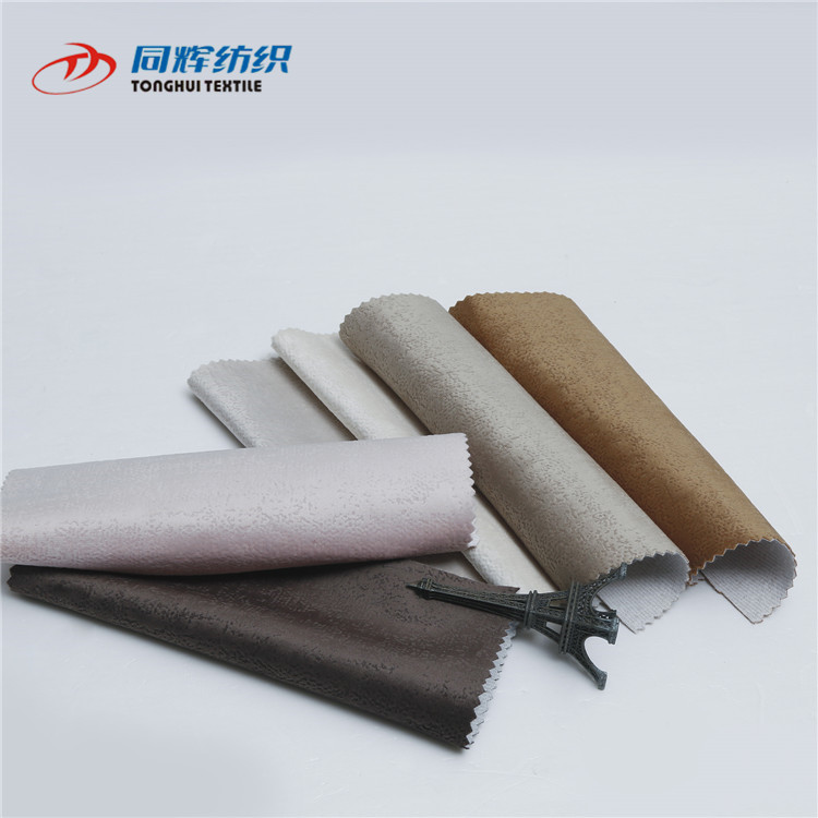 Customized Easy Clean Super Soft Plush Sofa Fabric