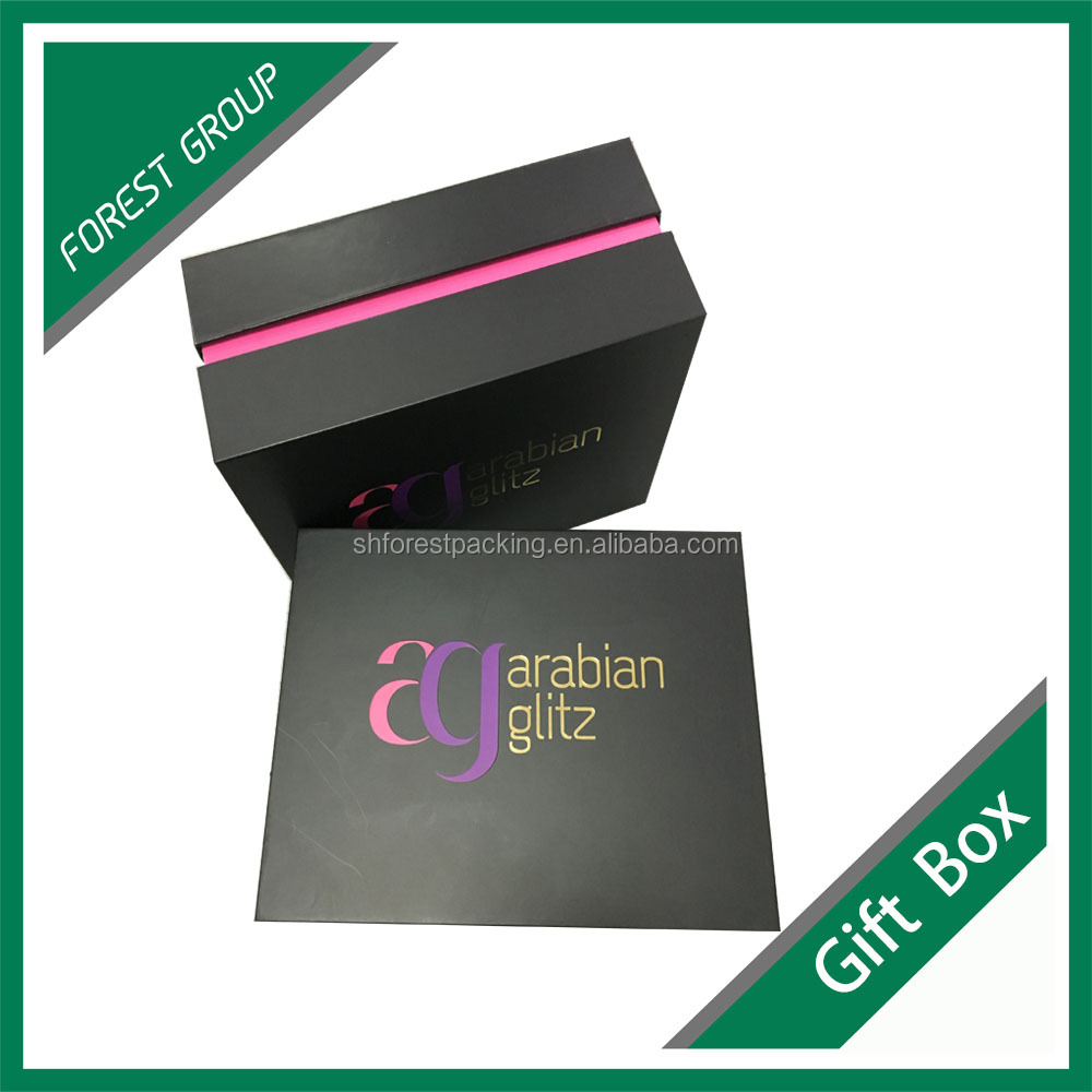 All sizes designed custom luxury gift box packaging logo printed jewelry boxes