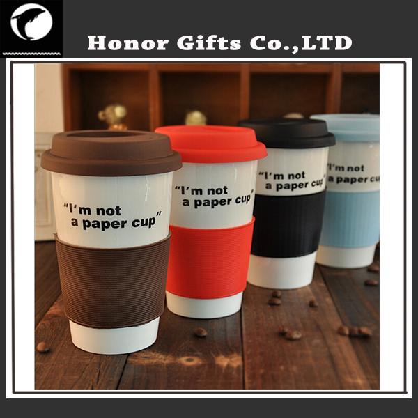 Promotional Double Walled Custom Brand Travel Coffee Mug