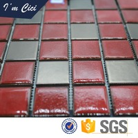 High quality mixed color bathroom wall tile ceramic mosaic floor tiles