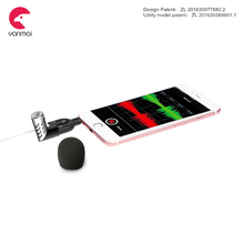 Factory hot new R1 metal material cell phone mini microphone for mobile phone