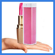 Wholesale portable keychain perfume power bank 2600mah mobile travel charger