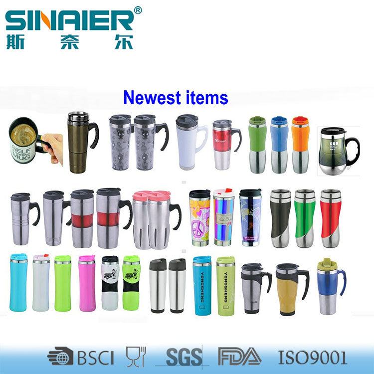 450ml Promotion Mighty Stainless Steel Mug with handle