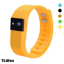 Fitness Activity Tracker BT 4.0 Waterproof Smart Sport Wristband Pedometer tw64 activity and sleep tracker