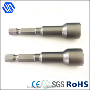 Magnetic alloy spanner hex socket wrench used for Turn tail screws