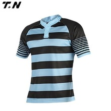 Custom sublimation printing rugby jersey,rugby league jersey