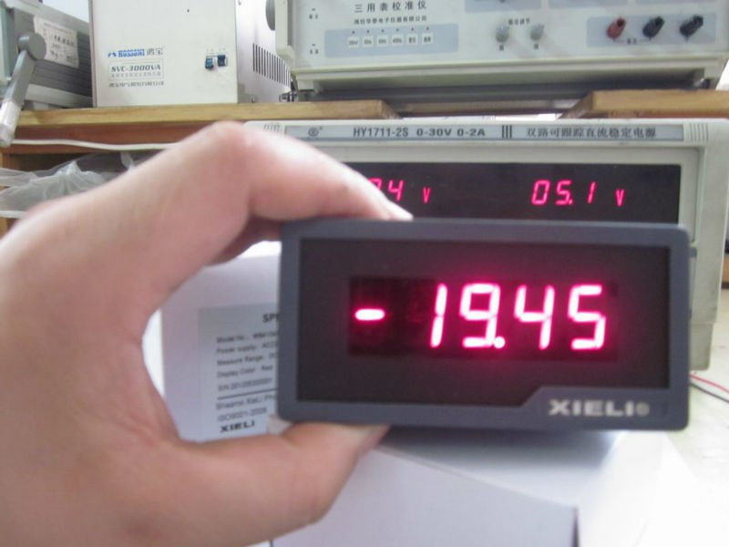 LED display digital milliammeter