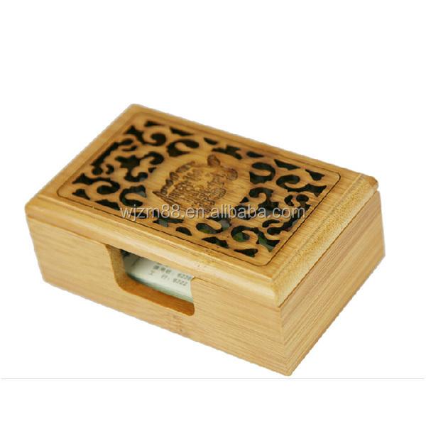 Bamboo business card holdersyuanwenjun bamboo name card holder box business card holders wholesale colourmoves Image collections