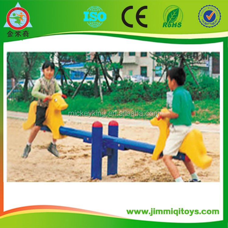 Top selling Outdoor playground baby seesaw play equipment