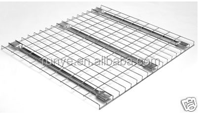 Good Quality MDF or Wire mesh decking panel warehouse storage pallet shelf for sales (manufacturer)