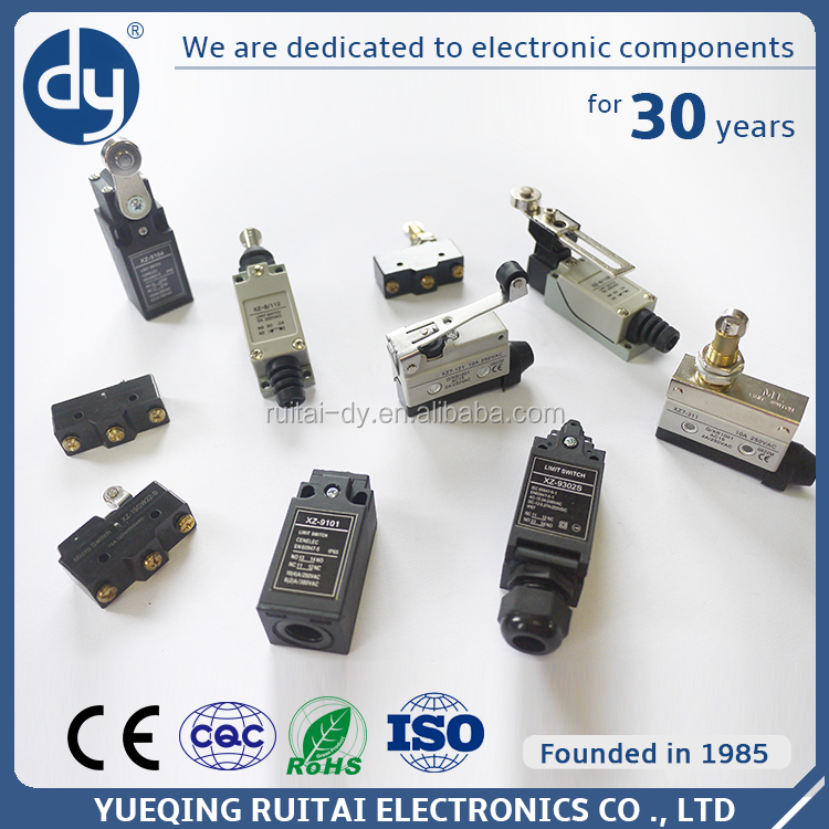 Factory Directly Provide 380VAC Zippy Limit Switch & Micro Switch