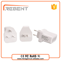 special multi four USB ports travel charger for mobile phones