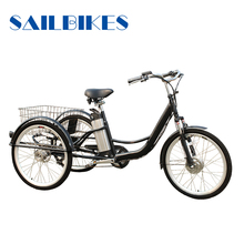 New Design Adult Tricycle With 36v Battery