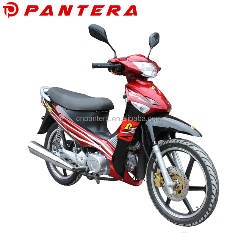 Chinese Large Size 4 Stroke Power Bike Motorcycle 110cc Cub Motorbike