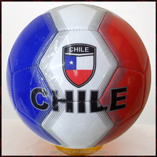 2014 brazil world cup football profeesional soccer ball, Chile flag soccer ball