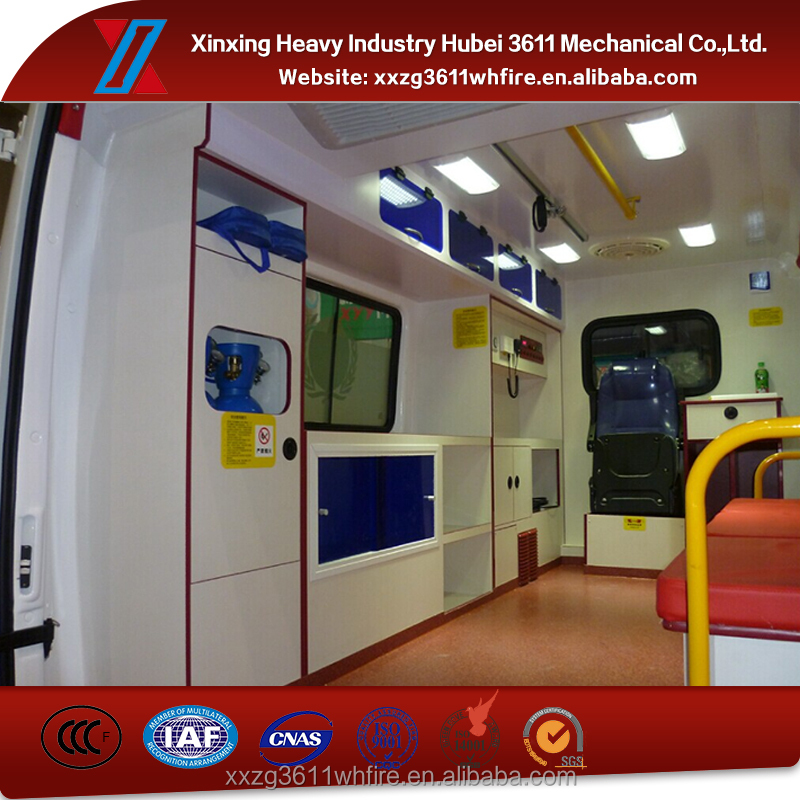 China Supplier New Manual Emergency Rescue China Used Ambulance Car Manufacturer