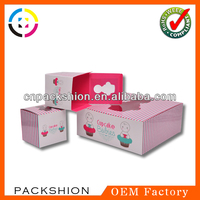 2013 Top Sale Recycle Paper Cake Box/ Cupcake Boxes