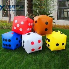 2017 new style giant inflatable d20 dice/Custom Color Floating Dice For Promotion