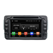 Android 8.1+4 Core system 7&quot; touch screen 2 DIN Car DVD player for BENZ ML <strong>W163</strong> /CLK W209 (2002-2005)