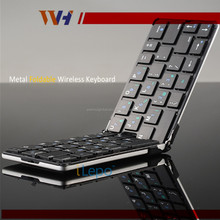 Ultra Thin Bluetooth Wireless Foldable Full Size Keypad Chocolate Flyshark Keyboard