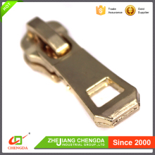 CHENGDA High Quality Unique Decorative Customized Size Metal Zipper Pulls Slider