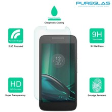 Wholesale mobile phone full cover tempered glass screen protector for Motorola Moto G4 Play
