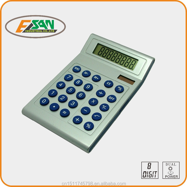 new dual power 8 digits calculator with best price for gift