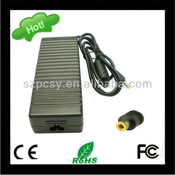 replacement laptop adapter case for acer aspire with 5.5*2.5mm dc size CE,FCC,Rohs approved